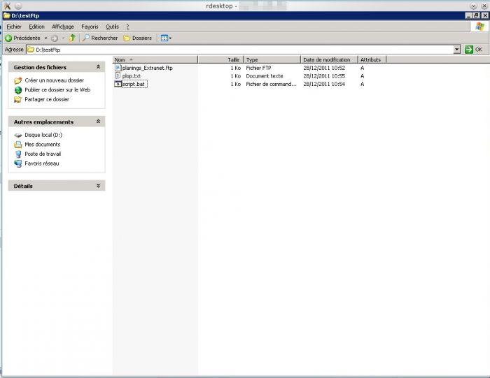 Windows Batch Automatiser Le Transfert Par Ftp Blog Du Grouik