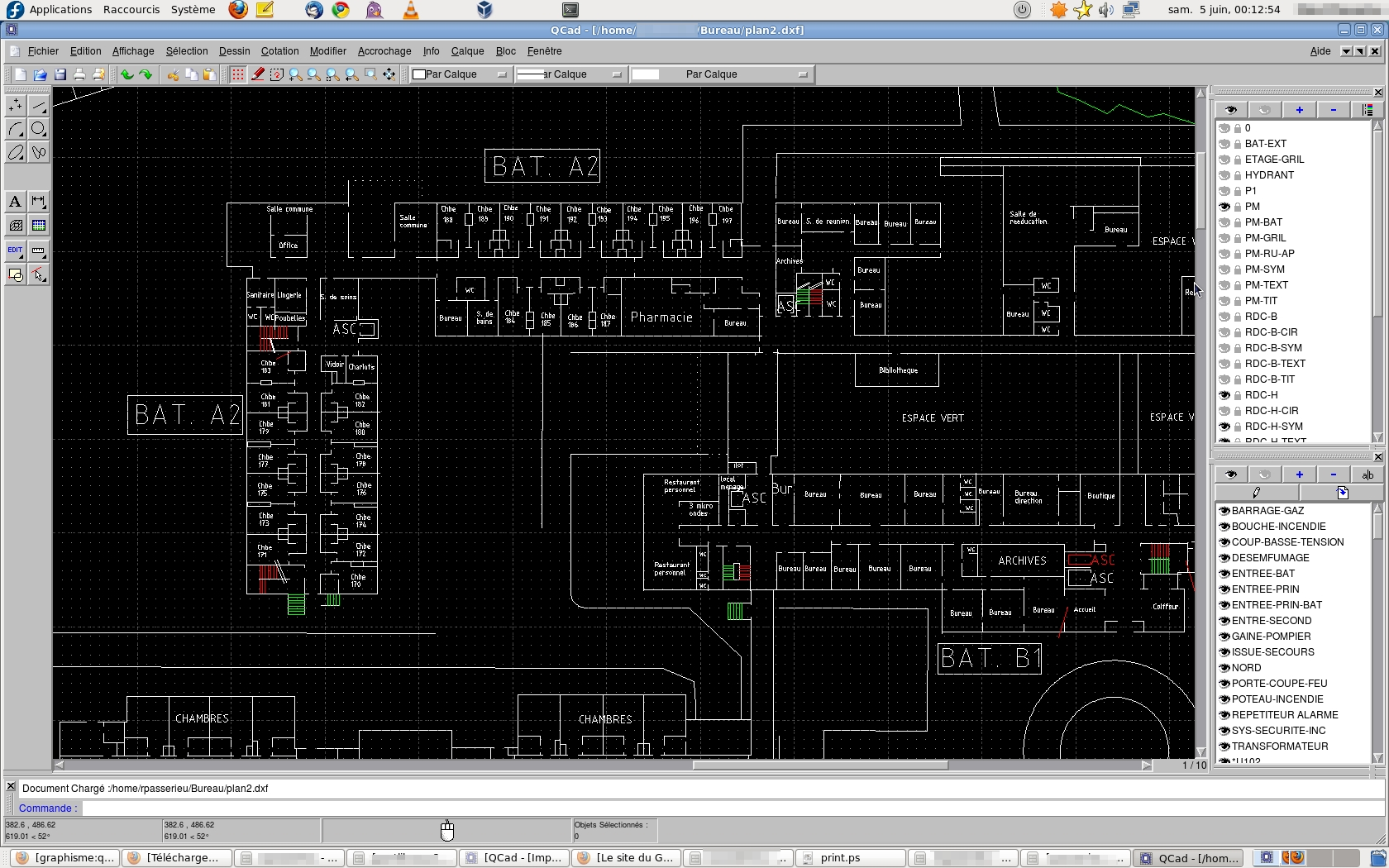 plan maison qcad